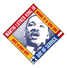 serve mlk day logo