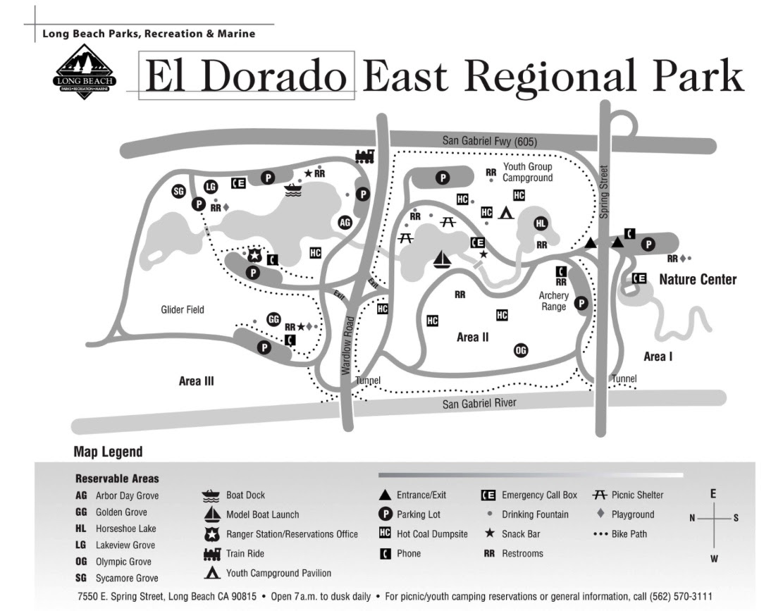 El Dorado East Regional Park Map